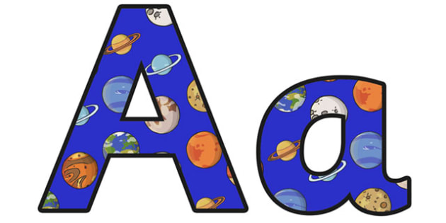 The Earth And Beyond Lowercase Display Lettering - the earth and beyond, space, the earth and beyond display lettering, space display lettering, the earth