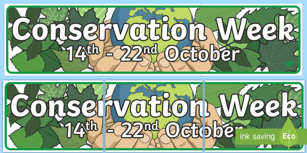 New Zealand Conservation Week Display Banner