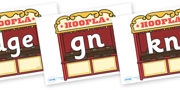 Silent Letters on Hoopla Stands - Silent Letters, silent letter, letter blend, consonant, consonants, digraph, trigraph, A-Z letters, literacy, alphabet, letters, alternative sounds