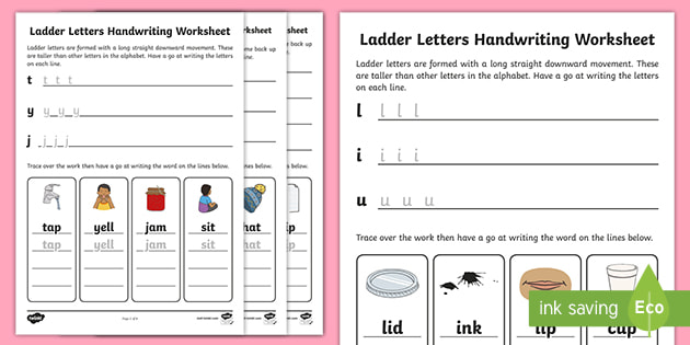 Cursive Handwriting Practise Sheets Letter Formation