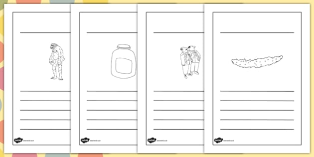 Writing Frames to Support Teaching on The BFG - bfg, writing frame, writing, frame