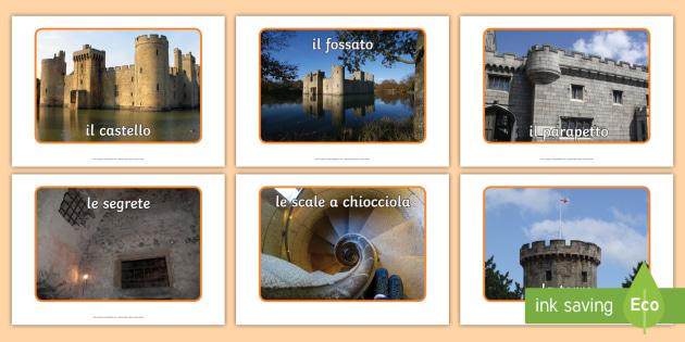 Il Castello Foto Illustrative Fotografie Nomi Parti Castello