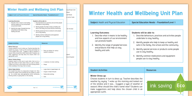 Winter health and wellbeing unit plan template cold hygiene winter health and wellbeing unit plan template cold hygiene lifeskills seasons pronofoot35fo Choice Image