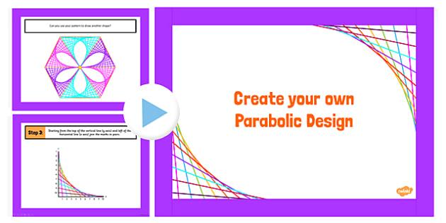 parabolic designs powerpoint