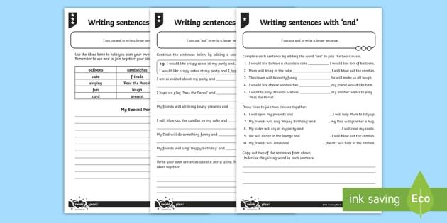 sentence linking words