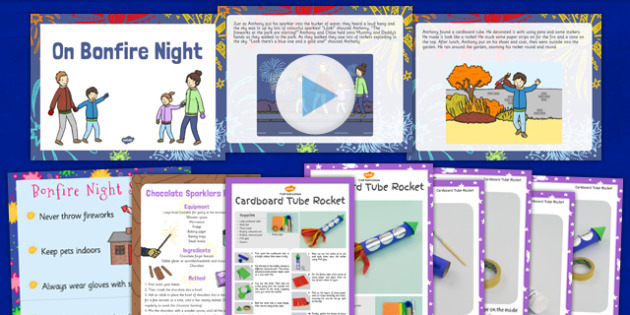 On Bonfire Night Story PowerPoint and Resource Pack - bonfire night, story, powerpoint, resource, pack