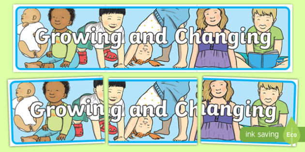 Growing and Changing Display Banner