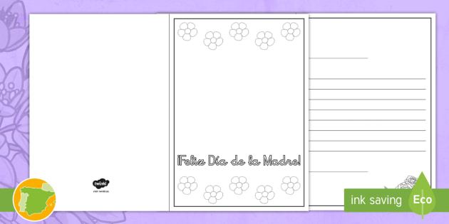 Manualidad Tarjetas De Felicitación Para El Día De La Madre