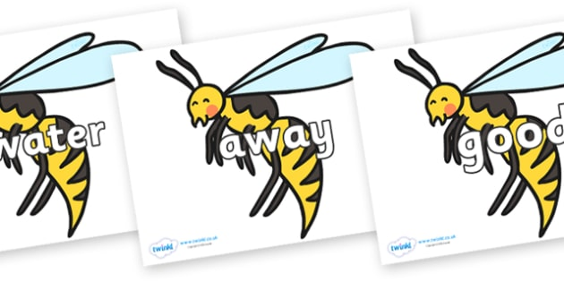 Next 200 Common Words on Wasps - Next 200 Common Words on  - DfES Letters and Sounds, Letters and Sounds, Letters and sounds words, Common words, 200 common words