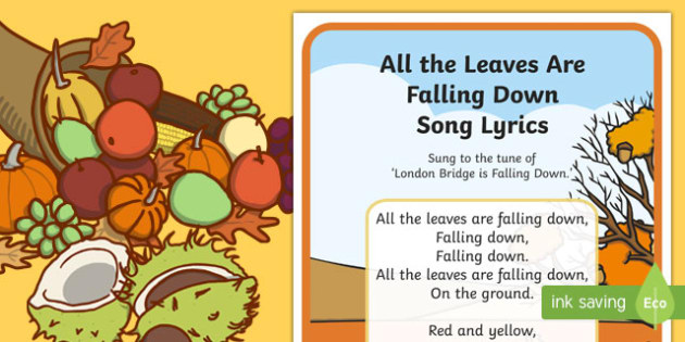 All The Leaves Are Falling Down Song Lyrics