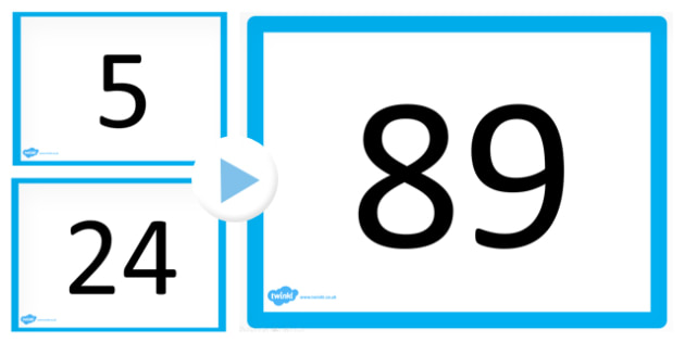 100 0 Counting Maths PowerPoint One Second Slideshow - count
