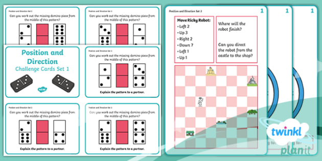 PlanIt Maths Y2 Position and Direction Challenge Cards