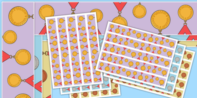 The Olympics Medals Display Border - Olympics, Olympic Games, sports, Olympic, London, 2012, display border, classroom border, border, Olympic torch, flag, countries, medal, Olympic Rings, mascots, flame, compete, tennis, athlete, swimming, race,
