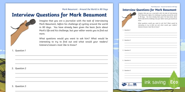 3 6 around the world in 80 days mark beaumont interview 3 6 around the world in 80 days mark beaumont interview questions worksheet activity publicscrutiny Gallery