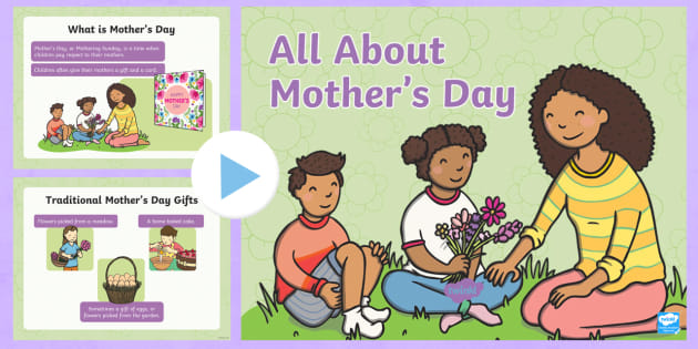 EYFS All About Mother's Day PowerPoint - EYFS, Presentation