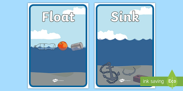 T T 20252 Floating And Sinking Sorting Sheets on Materials Science Worksheet