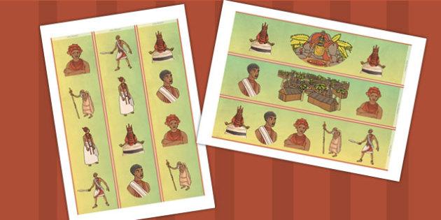 History of Benin Edo Version of Events Display Borders - stories