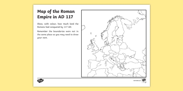 of the Roman Empire Map Worksheet romans roman empire – Ancient Rome Map Worksheet