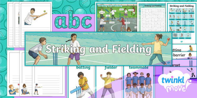 Twinkl Move - Year 3 Striking and Fielding Additional Resources - pe, powerpoint, plan, plans, planning, val sabin, physical, education, sports, games, ks2, lks2, y3,