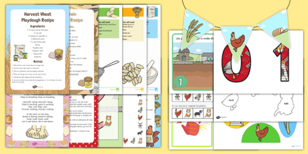 Childminder Little Red Hen Resource Pack