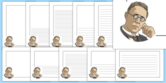 Harry Brearly Themed Page Borders - harry brearly, themed, page borders