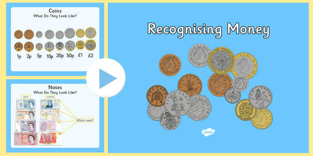Maths Intervention Recognising Money PowerPoint - SEN, special needs, maths, money, counting money, recognising money, adding money, coins, notes