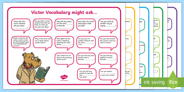 Ks1 Focused Reading Skills Question Mat Vipers Reading