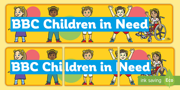 BBC Children in Need Display Banner