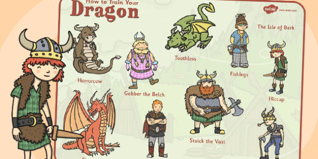 To train your dragon word mat literacy visual words how to train your dragon word mat literacy visual words ccuart Gallery