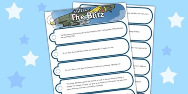 The Blitz Fact Fan Book - blitz, fact, fan, book, history, ww2