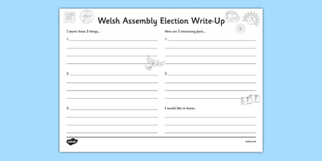 Welsh Assembly Election Write Up - welsh, cymraeg, Welsh Assembly Election 2016, Write Up