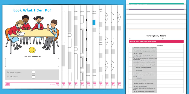 On Entry Nursery Assessment Booklet And Record … assessment program / audit plan. twinkl