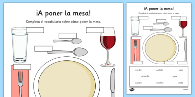 Formal Dinner Place Setting Page Proper Formal Dinner Place ...