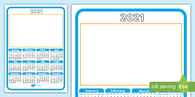 Christmas 2021 Editable Calendar Printable Calendar 2021 Christmas Gift Blank Template
