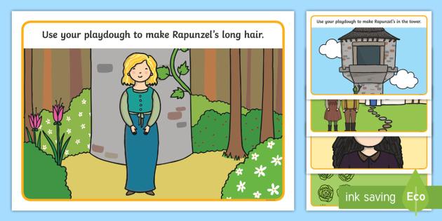 Rapunzel Playdough Mats - rapunzel, playdough, rapunzel mats, playdough mats, playdough games, rapunzel activities, rapunzel games, playdough activites