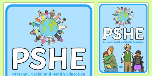 PSHE Display Poster - personal, social, emotional, health, healthy, education, citizenship, ks1, ks2, display, classroom, visual prompt
