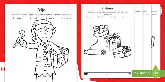 Coloriage Magique Noël Coloriage Magique Colorier