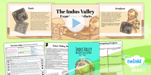 History: The Indus Valley: Examining Artefacts UKS2 Lesson Pack 4