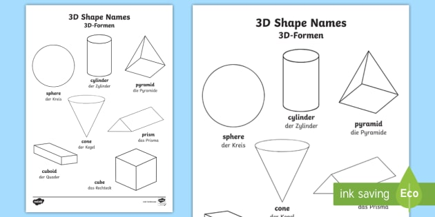 3d shapes words colouring pages englishgerman maths 3d shapes words colouring pages englishgerman maths geometry eal german ccuart Choice Image