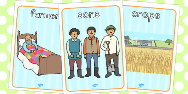 The Farmer and His Sons Display Posters - australia, display