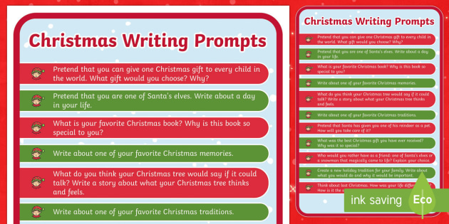 christmas writing prompts christmas usa writing prompt christmas story starters