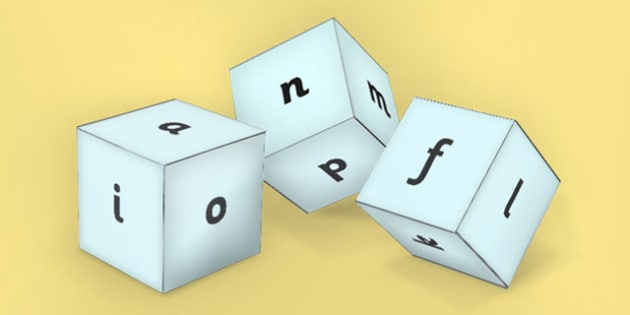 CVC Dice - cvc, dice, words, cvc words, cvc dice, activity, class
