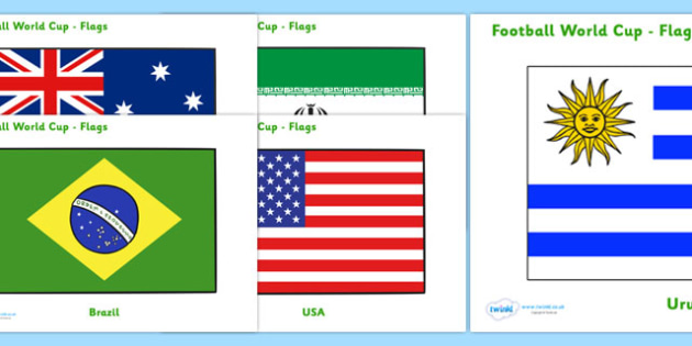 World Cup Display Flags - Football, Flag, World Cup, soccer, frieze, display, posters, nations, countries, flags