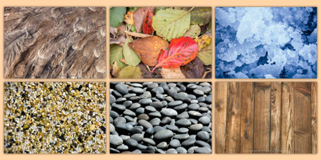 Natural Textures Collage Pack (teacher made)