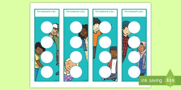 Editable Ourselves Bookmarks - Welcome, bookmark, bookmark template,  gift,  present, book, reward, achievement, ourselves, all about me, my body, senses, emotions, family, body, growth