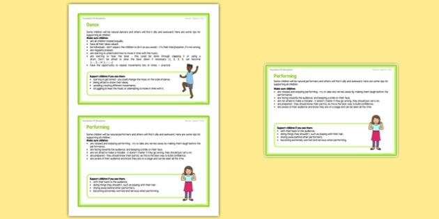 Foundation PE (Reception) - Dance - Dinosaurs Teacher Support Cards Pack - EYFS, PE, Physical Development, Planning