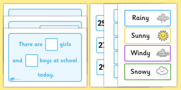 Daily Calendar Story - calendar story, school, primary, Days of the Week, calendar, days, date display