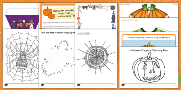 Top 10 Early Years Halloween Activity Pack