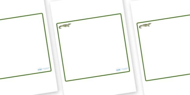 Crocodile Themed Editable Classroom Area Display Sign - Themed Classroom Area Signs, KS1, Banner, Foundation Stage Area Signs, Classroom labels, Area labels, Area Signs, Classroom Areas, Poster, Display, Areas