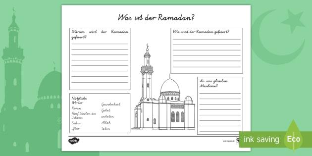 new was ist der ramadan arbeitsblatt religion muslime. Black Bedroom Furniture Sets. Home Design Ideas